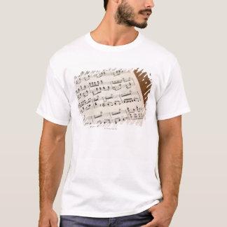 T-shirt Musique de feuille 7