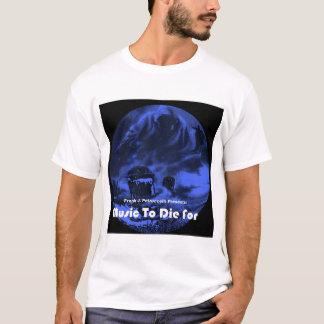 T-shirt Musique de Frank Petruccelli à mourir pour la