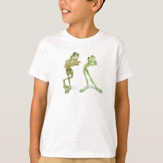 T-shirt Musique de grenouilles