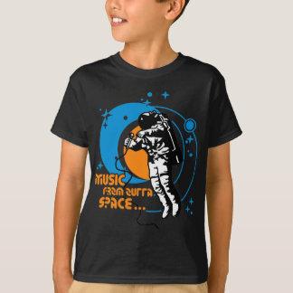 T-shirt Musique de l'espace d'outta