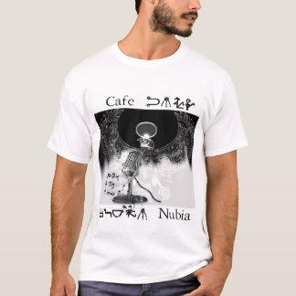 T-shirt Musique de Nubia de café