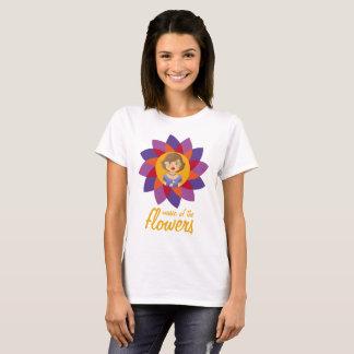 T-shirt Musique des fleurs