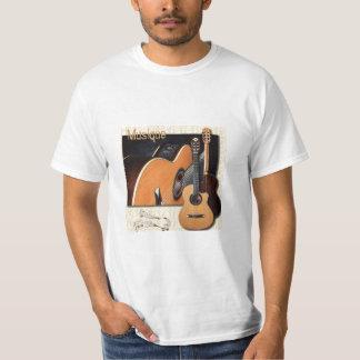 t-shirt musique guitares