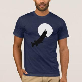 T-shirt Muskies par clair de lune : Passer par une pièce
