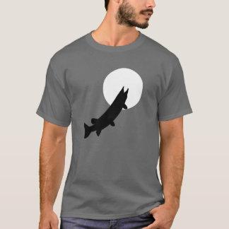 T-shirt Muskies par la pièce en t de clair de lune