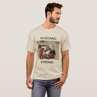 T-shirt Mustang sauvage. Steen du sud, Madame Braveheart