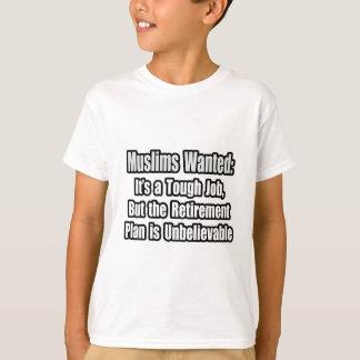 T-shirt Musulmans voulus…