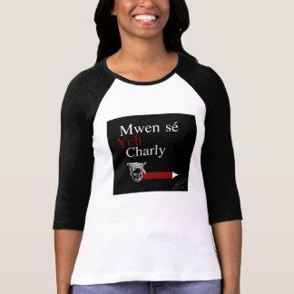 T-shirt Mwen sé Ych Charly