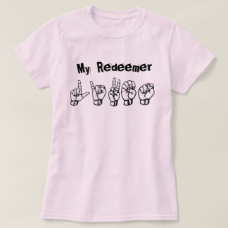T-shirt My MER de discours Lives (ASL alphabet)