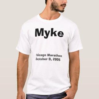 T-shirt Myke, marathon de Chicago le 9 octobre 2005