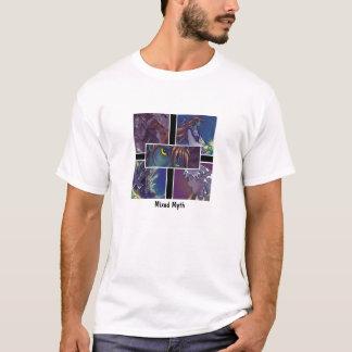 T-shirt Mythe mélangé : Visages