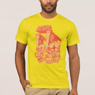 T-shirt 'N né multiplié dans la pièce en t de Belfast