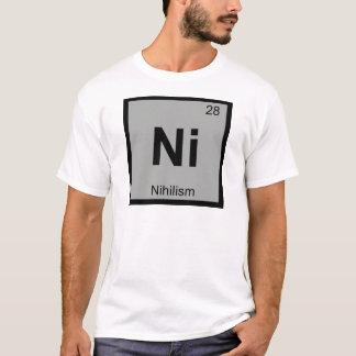T-shirt N - Tableau périodique de chimie de philosophie de