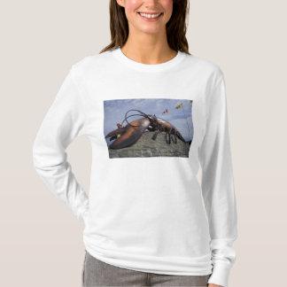 T-shirt Na, Canada, Nouveau Brunswick, Shediak, monde