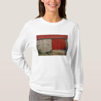 T-shirt Na, Canada, Nouveau Brunswick, Shepody. Grange