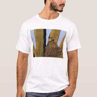 T-shirt Na, Etats-Unis, Arizona, Tucson. Grand hibou à