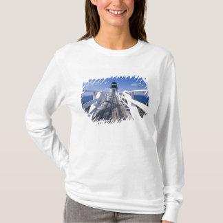 T-shirt Na, Etats-Unis, Maine, port Clyde.  Point 2 de