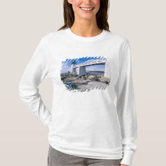 T-shirt Na, Etats-Unis, Maine, port Clyde.  Point de