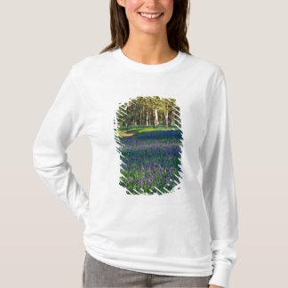 T-shirt Na, Etats-Unis, Orégon, Salem. Champ de camas et