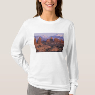 T-shirt Na, Etats-Unis, Utah, arque le parc national.