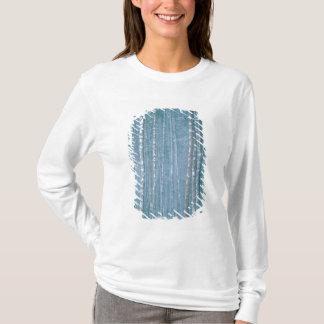 T-shirt NA, ETATS-UNIS, WY. Scène d'hiver de Milou parmi