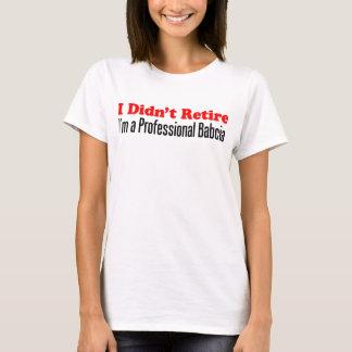T-shirt N'a pas retiré Babcia professionnel