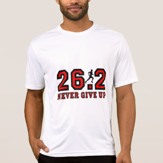 T-shirt N'abandonnez jamais le marathon
