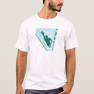T-shirt Nageur de recouvrement