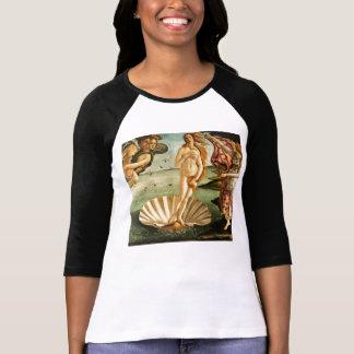 T-shirt Naissance de Botticelli d'art de cru de la