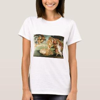 T-shirt Naissance de Botticelli de la peinture d'art de