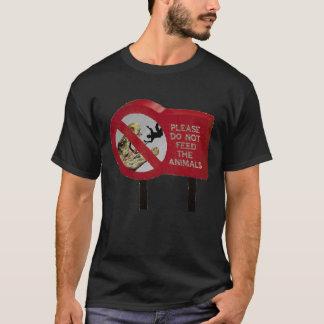 T-shirt N'alimentez pas le dinosaure