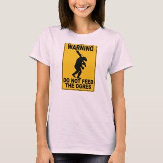 T-shirt N'alimentez pas les ogres