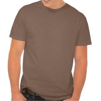 T-shirt nano de Hanes des hommes, chocolat foncé