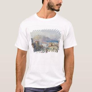 T-shirt Naples, 19ème siècle ; couleur pour aquarelle ;
