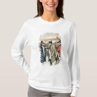 T-shirt Napoleon Bonaparte présent la femelle