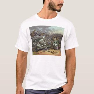 T-shirt Napoléon et squelette, 18ème
