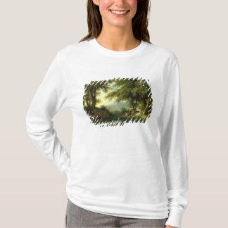 T-shirt Narcisse admirant sa réflexion