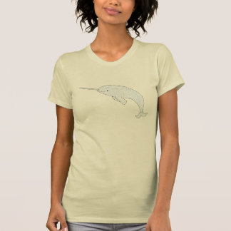 T-shirt Narwhal tribal