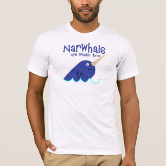 T-shirt narwhals
