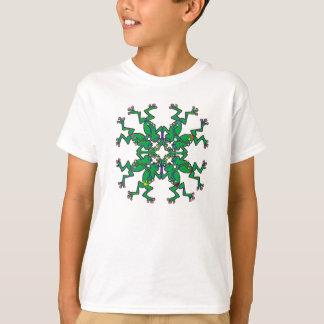 T-shirt natation synchronisée par grenouilles