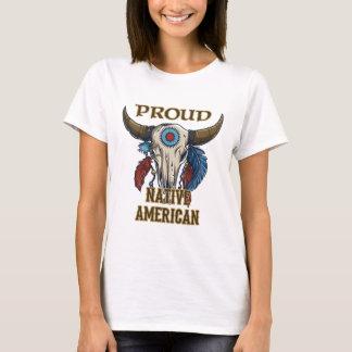 T-shirt Natif américain fier