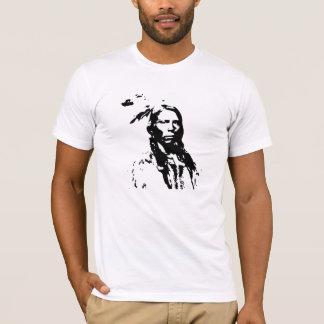 T-shirt Natif américain fou de cheval