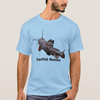 T-shirt Nation 2 de poisson-chat