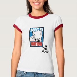 T-shirt Nation de Nico