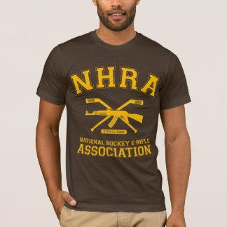 T-shirt national d'association d'hockey et de