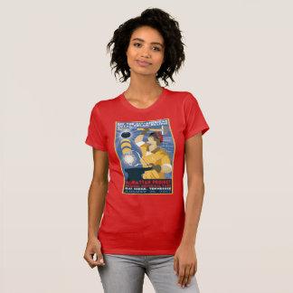 T-shirt national de parc historique de projet de