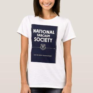 T-shirt National-Sarcasme-Société