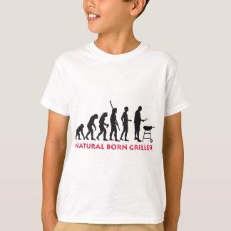 T-shirt Natural Born Griller 2c