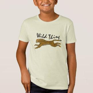 T-Shirt Nature d'enfants en cadeau sauvage d'animal de
