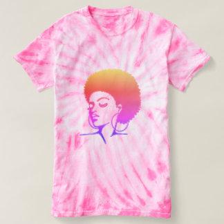 T-shirt naturel de cheveux